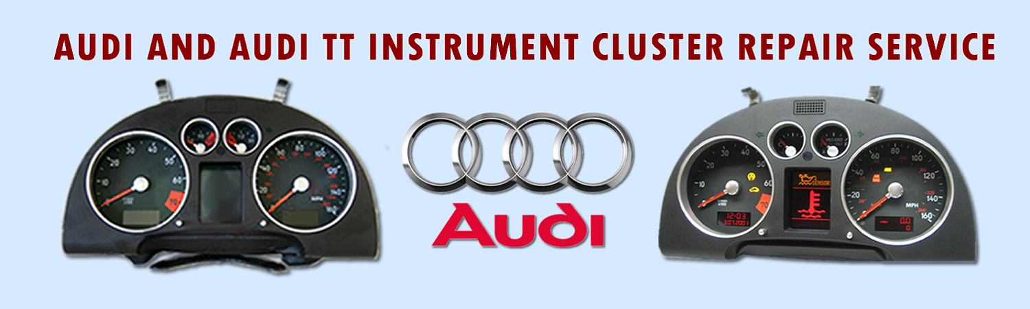 Audi And Audi TT Instrument Cluster Display Pixels Repair