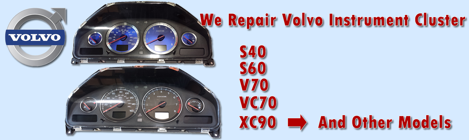 Volvo Instrument Cluster Repair And Rebuild